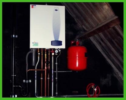 Ketel installatie 2 Verwarmingsinstallatie