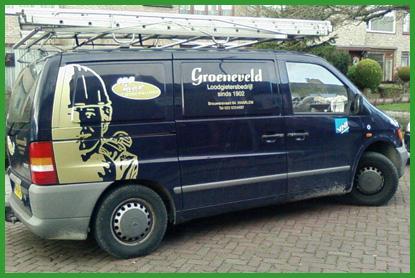 groeneveld bus Rioleringswerken