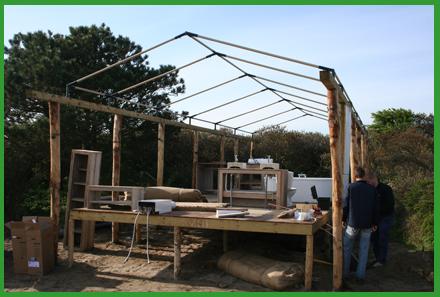 project bungalowtent 2 Installatiewerk bungalowtenten