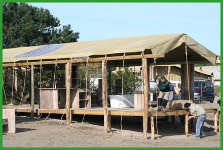 project bungalowtent 3 Installatiewerk bungalowtenten